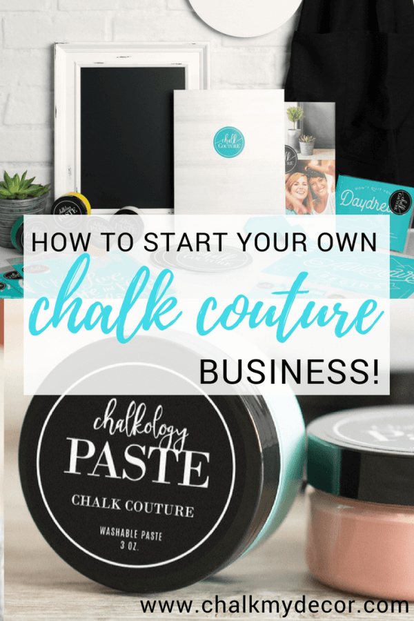 Start your very own Chalk Couture Business and create your way to a fun way to make some extra cash! #chalkcouture #chalkcouturebusiness #chalkcoutureprojects #creativebusiness #creativeentreprenuer