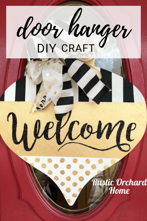 Door Hanger DIY Craft