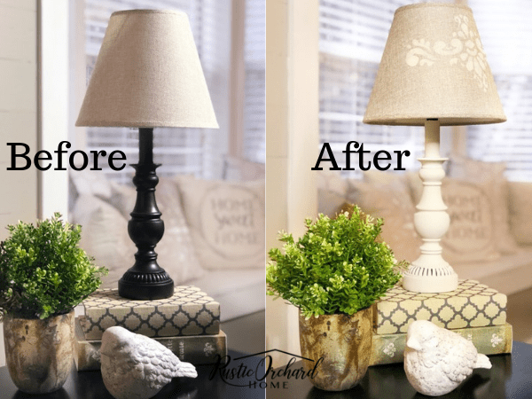 How To Paint A Lamp Shade