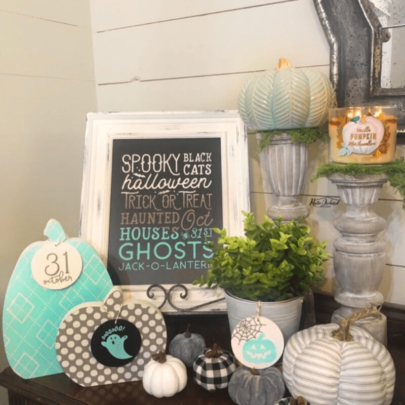 DIY Fall Home Decor Ideas using Chalk Couture.