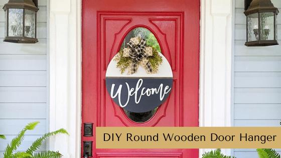 Round Wood Door Hanger