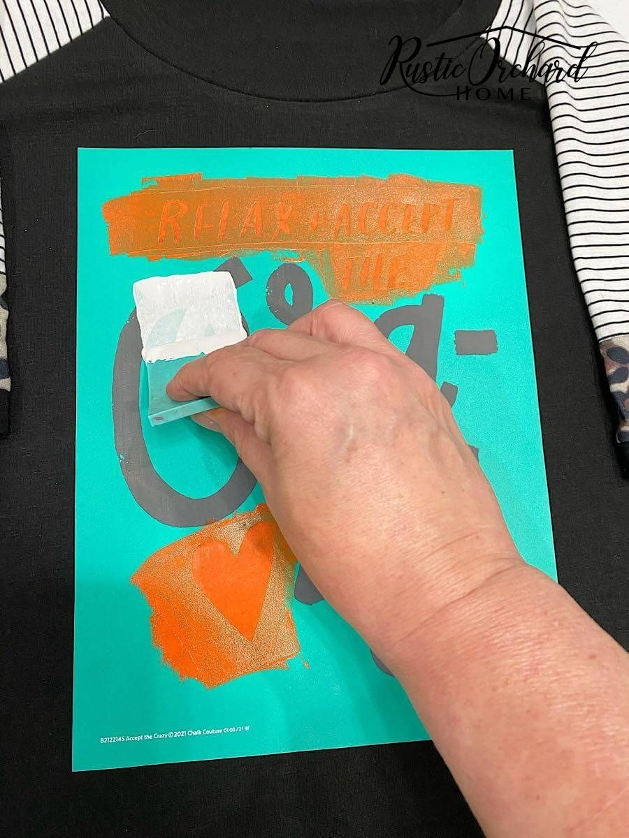 Learn how to make your own t-shirts using Chalk Couture Ink!