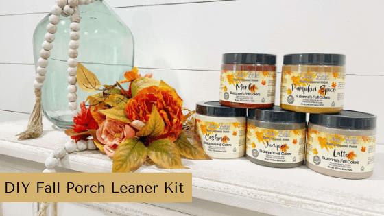 DIY Fall Porch Leaner Kit