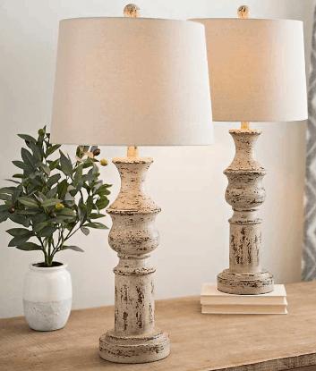 15 affordable vintage farmhouse lamps
