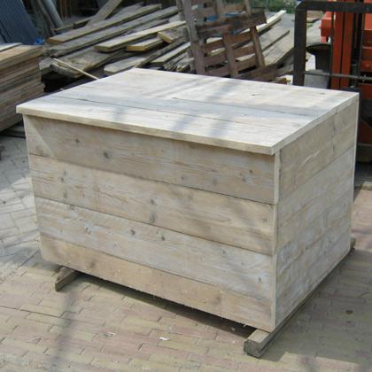 Steigerhouten Kist Hinte  Steigerhouten meubelen