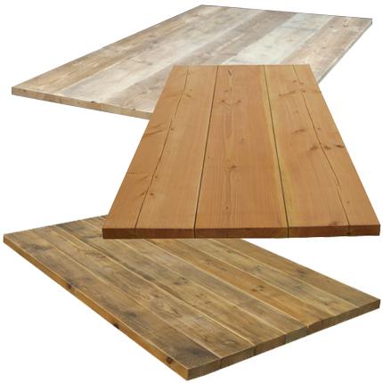 Losse tafelbladen  Steigerhouten meubelen  Rustikal Meubelen