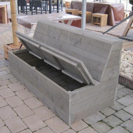 Steigerhout bank Leipzig  Steigerhouten meubelen