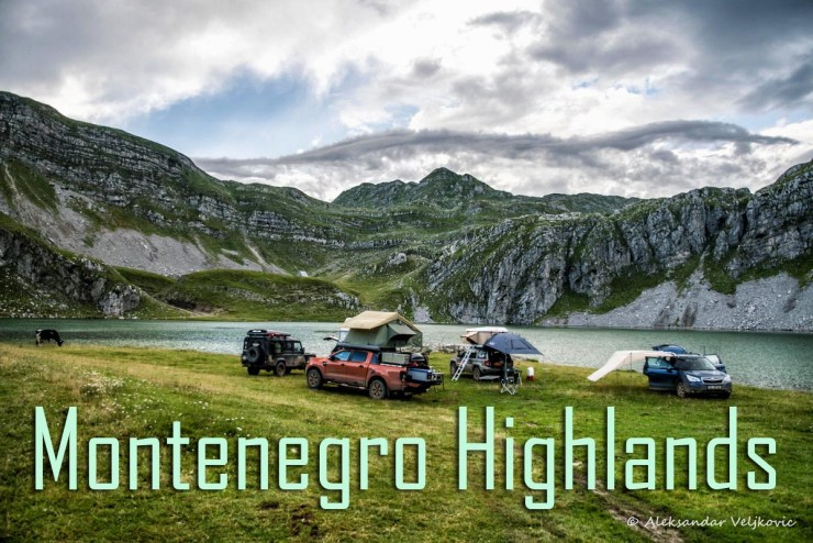 offroad tours / travel in Montenegro