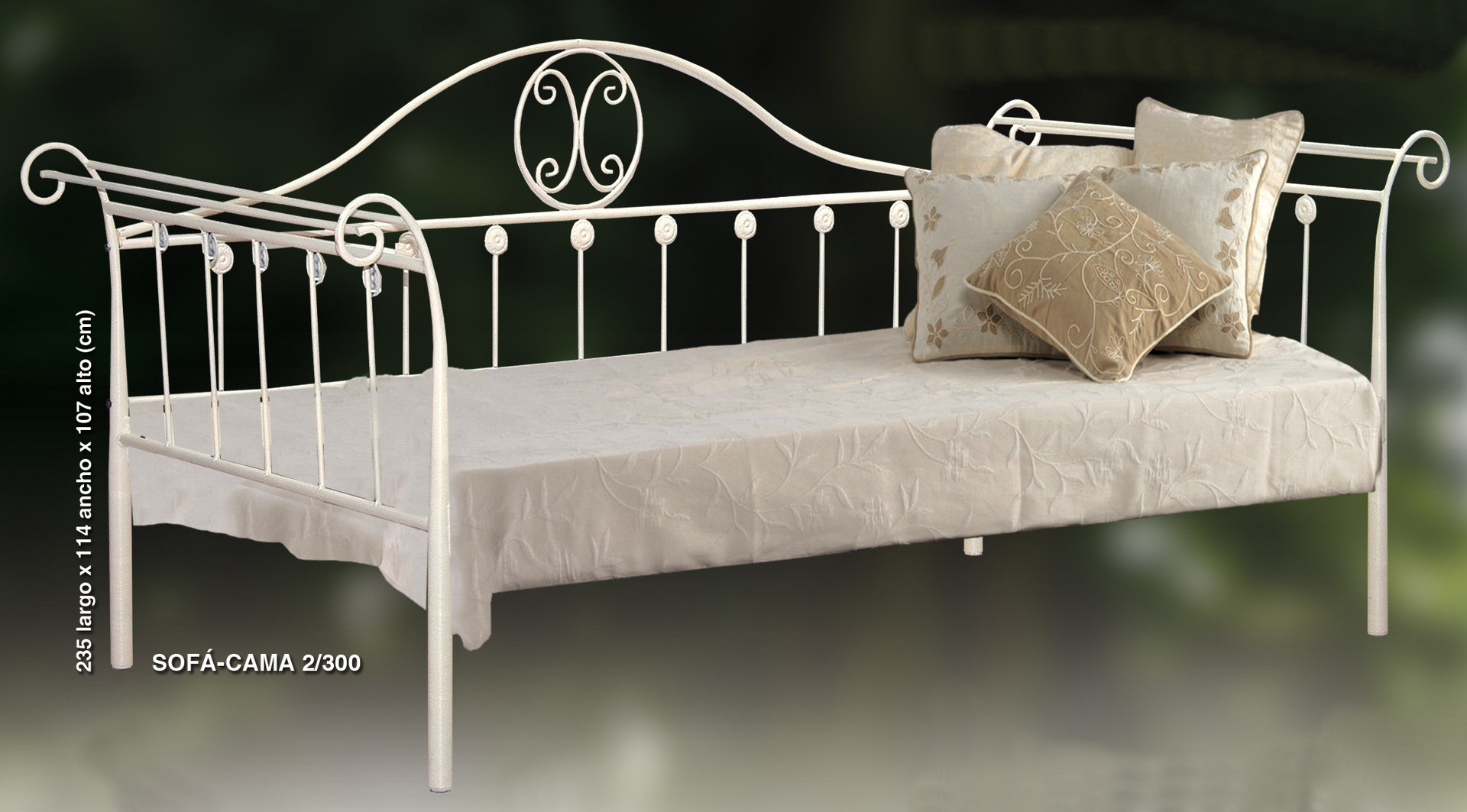 cama sofa forja what is the difference between a sleeper and pull out couch elegante alta gama 2 rustiluz