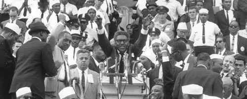 rustin march on washington