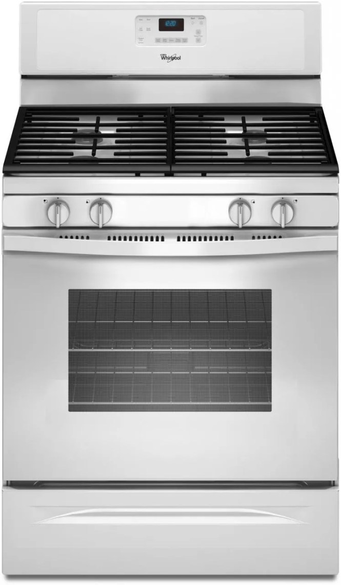 Whirlpool Stove Grates Burner Oven 5 Gas Parts