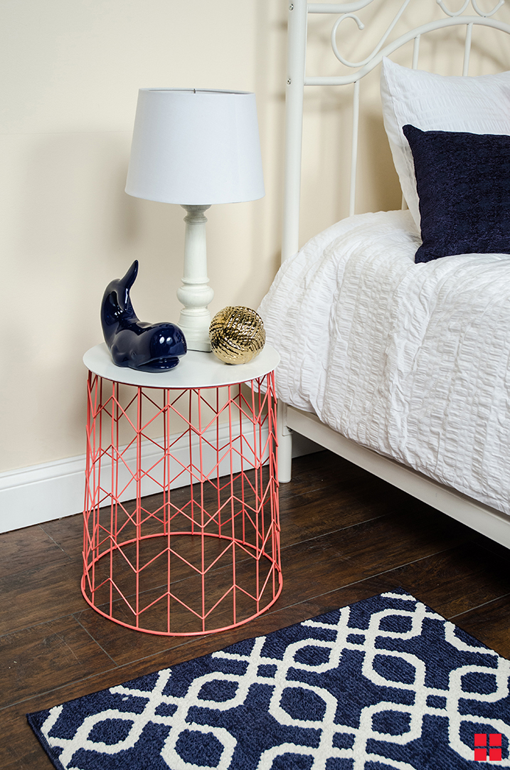 DIY Trash Can Nightstand