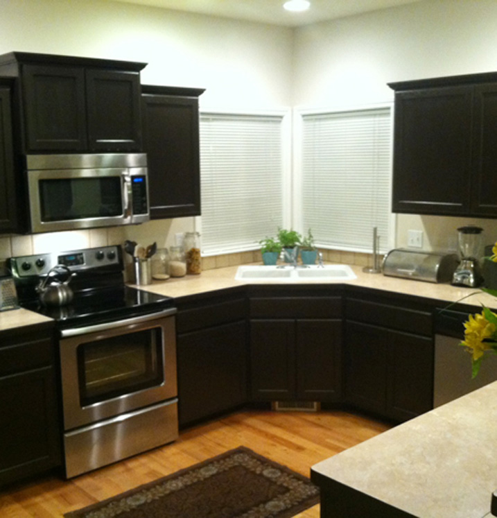 kitchen towels corner cabinet ideas transformations submitted by alex s