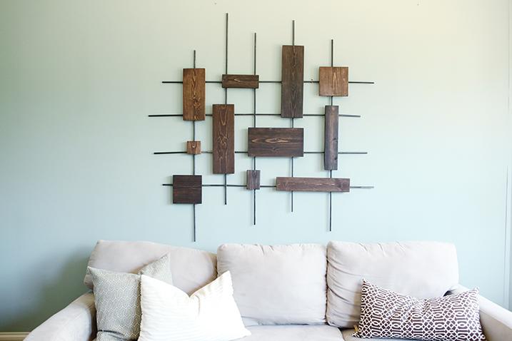 Modern Wood Wall Art