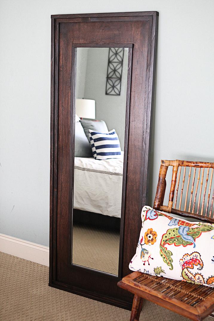 WoodFramed Mirror