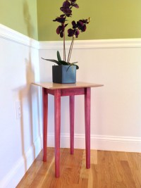 Wood Plant Stand/Side Table