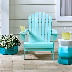 Painted Adirondack Chairs Rocking Chair Replacement Seat Slats Spray Bright Blue