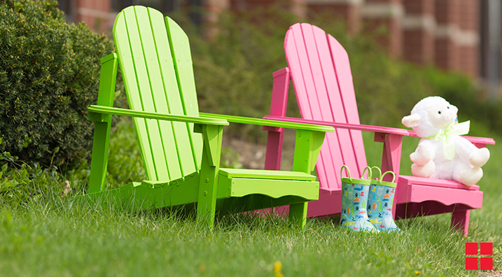 painted adirondack chairs chair leg extenders lowes wood