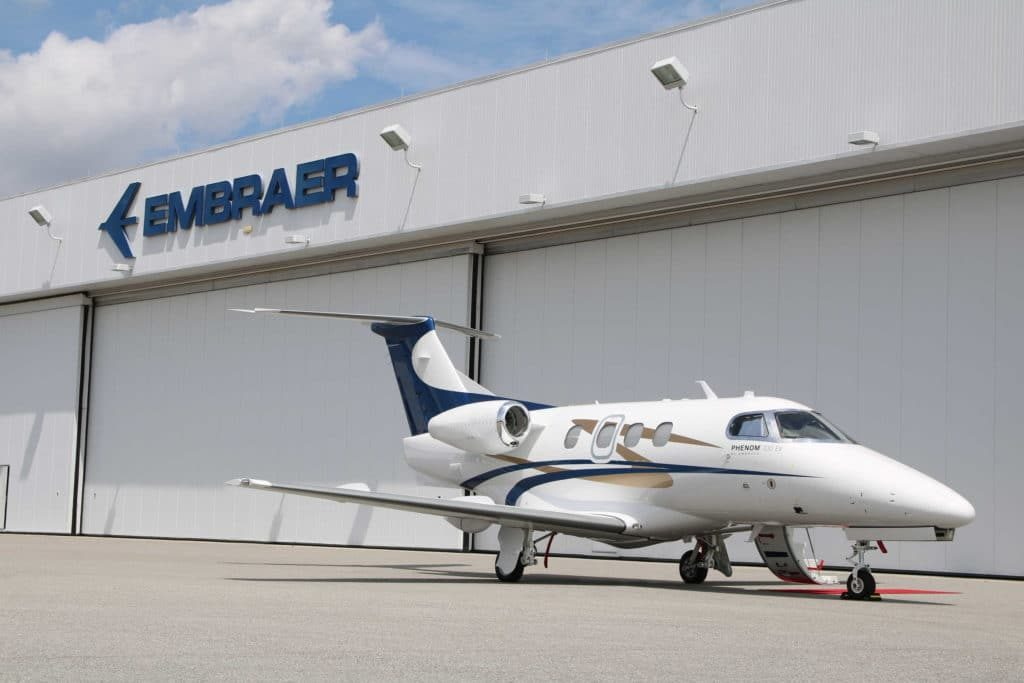 Embraer Delivers The First Phenom 100 E Rus Tourism News