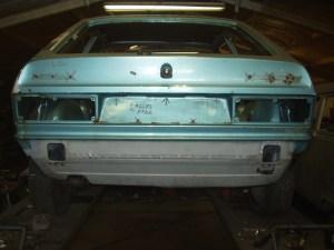 New rear panel