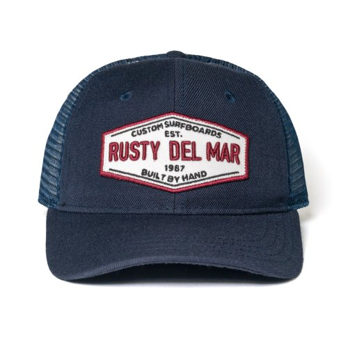 Custom Made Mesh Hat Rusty Del Mar