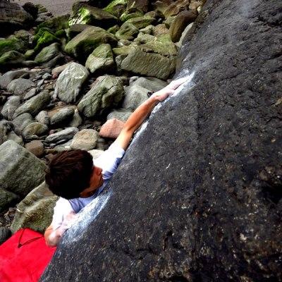 Exmoor Coast Bouldering Guide