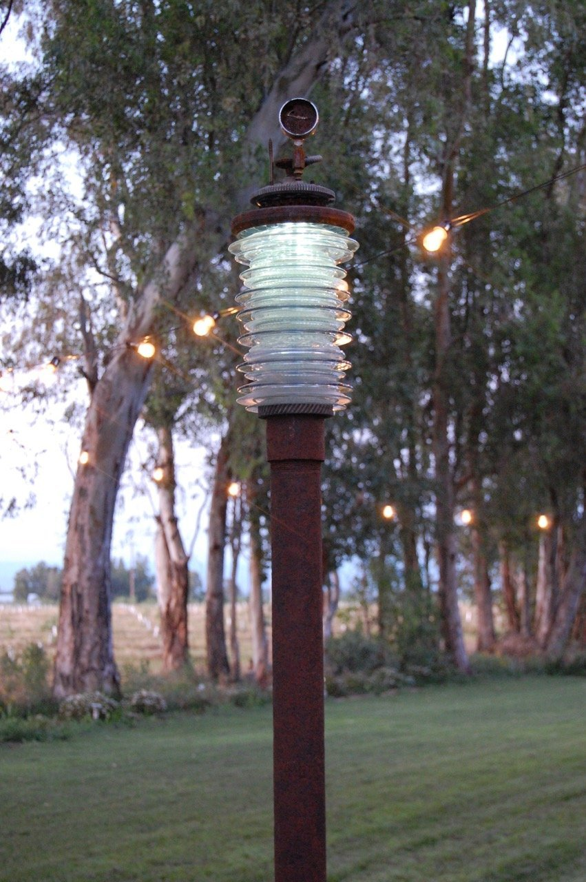 """Tall Guy"" Solar Garden Lamp"
