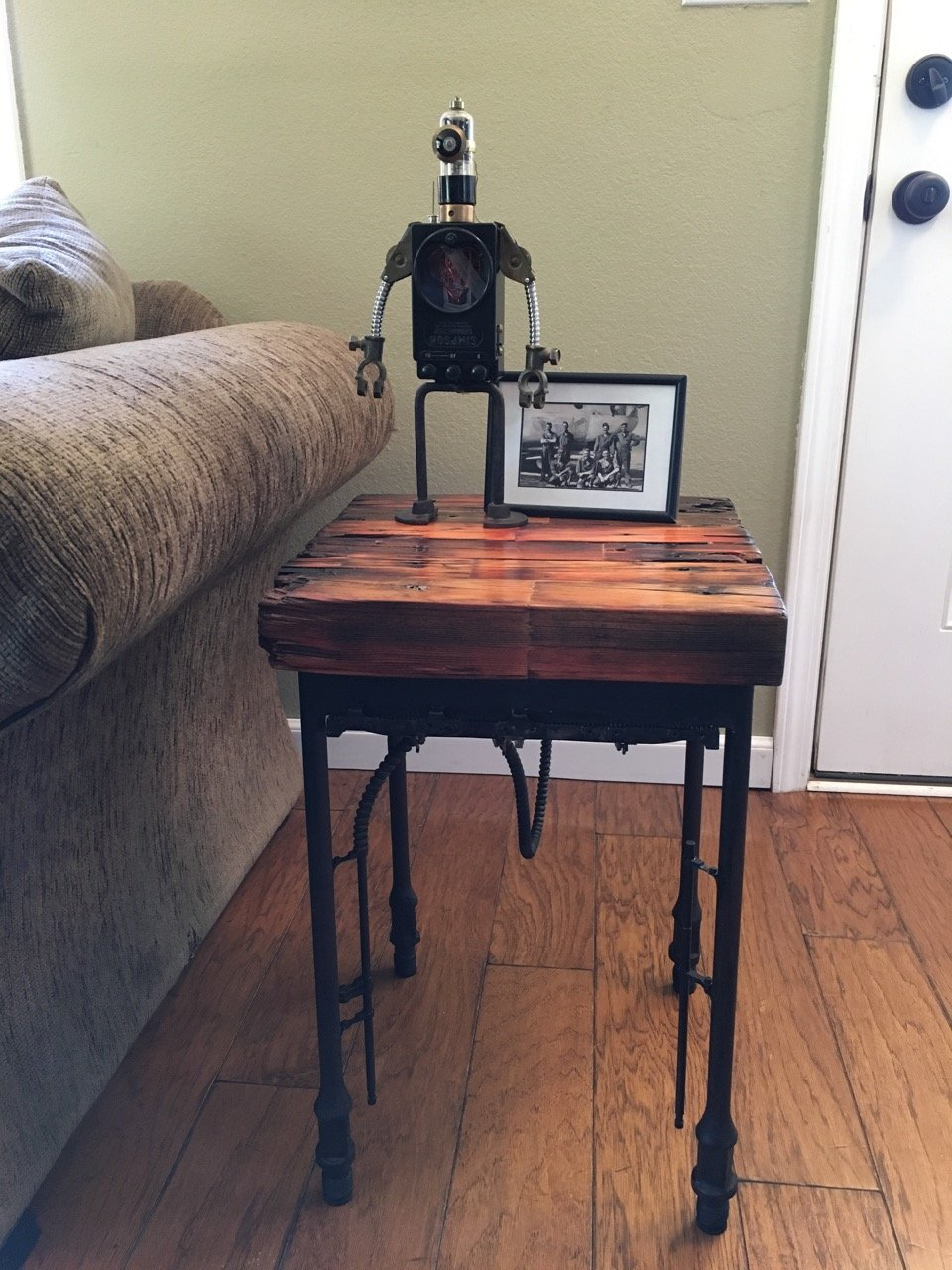 """15"" Farmpunk End Table"
