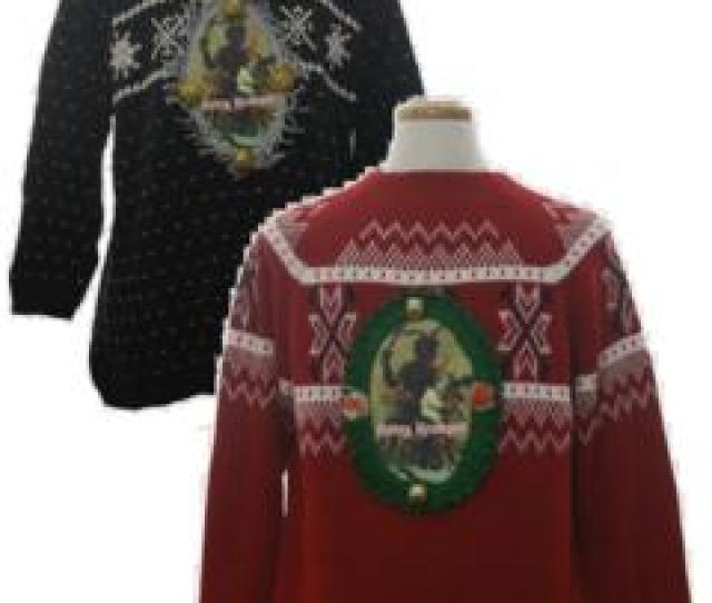 Ugly Christmas Sweaters Krampus