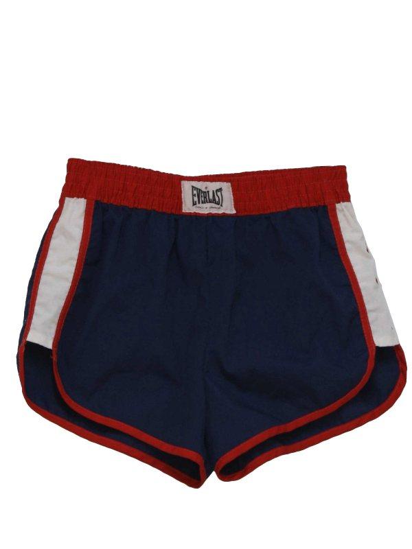 Red White and Blue Men's Swimwear