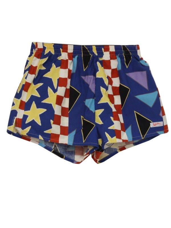 Vintage 80s Swimsuit Swimwear -pipeline Usa- Mens