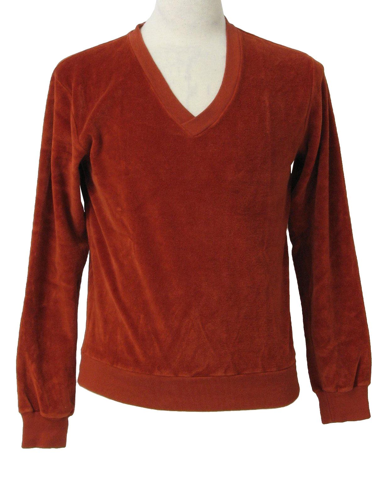 Vintage Hahne 70 S Velour Shirt Late 70s Hahne Mens