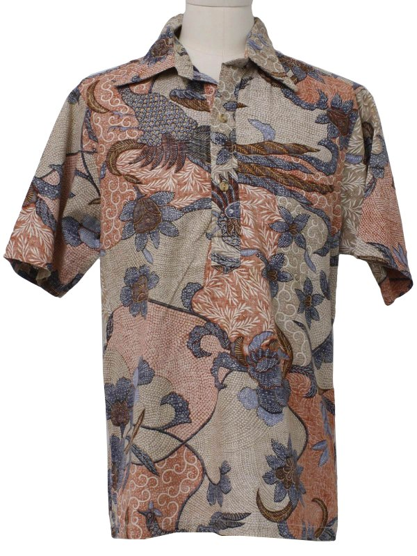 80s Vintage Hrh Royal Highness Hawaii Hawaiian Shirt