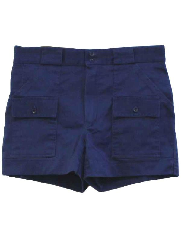 1990' Retro Shorts 90s -sportif- Mens Midnight Blue