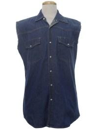 Eighties Vintage Western Shirt: 80s -Bit and Bridle- Mens ...