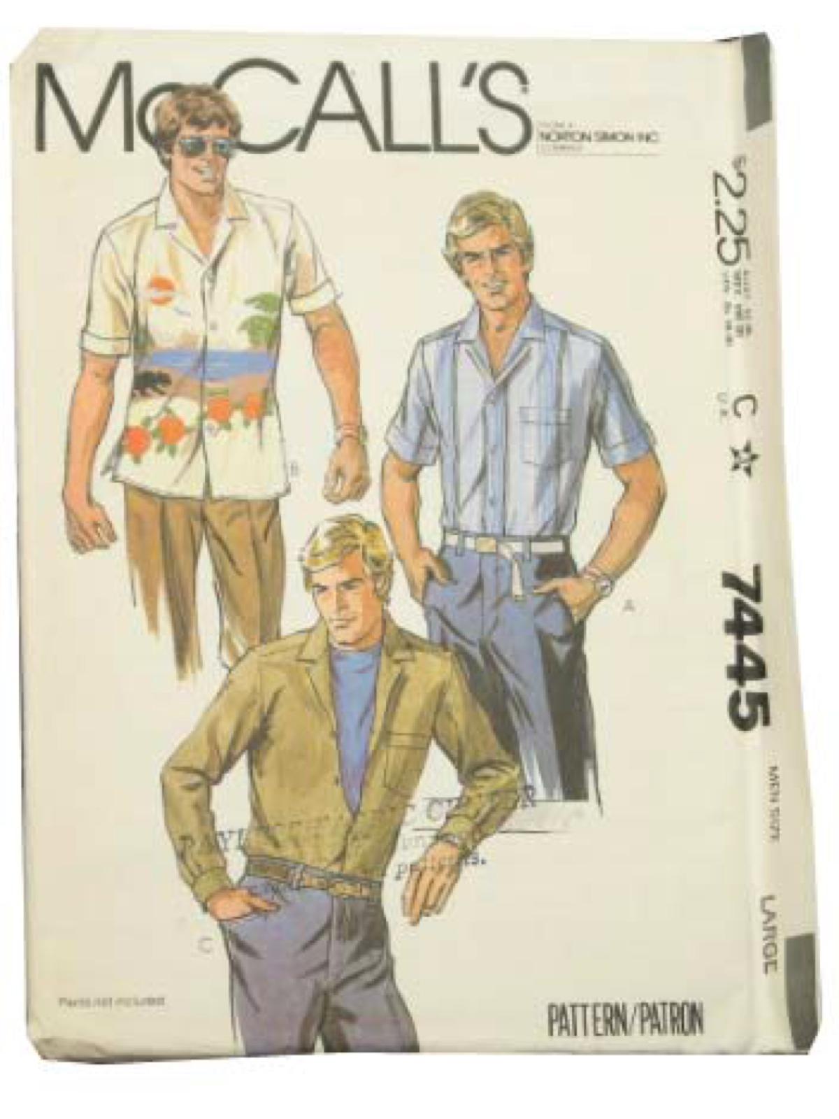 Vintage 1980s Sewing Pattern 80s McCalls Pattern No