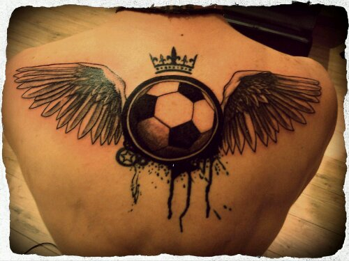 Football Tattoos For Girls