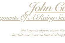 John Cale – Fragments of a Rainy Season (Domino-Music as Usual)