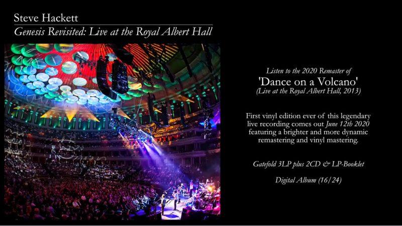 Steve Hackett – Genesis Revisited: Live at The Royal Albert Hall (Century Media)