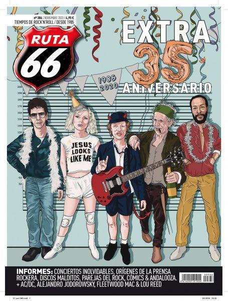 RUTA 66 noviembre 2020 / Número especial de aniversario – 35 años de Rock &  Roll – Ruta 66
