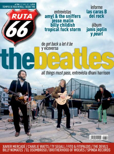 Ruta 66 octubre'21 – The Beatles, Amyl & The Sniffers, Tropical Fuck Storm, Jesse Malin, Billy Childish, Charlie Watts, Xavier Mercadé, Janis Joplin RUTA-66-octubre