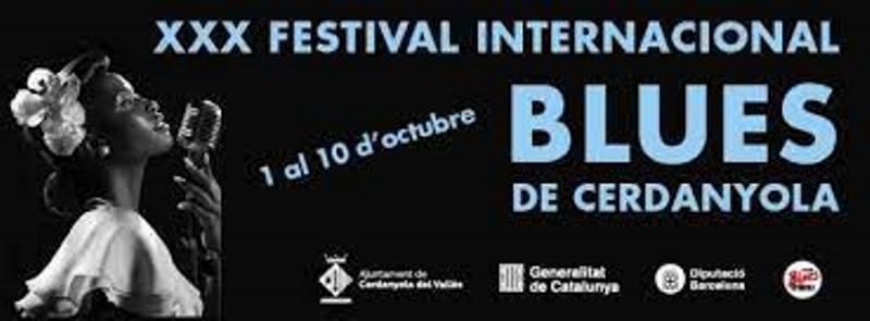 El 1 de octubre empieza la XXX edición del festival de Blues de Cerdanyola