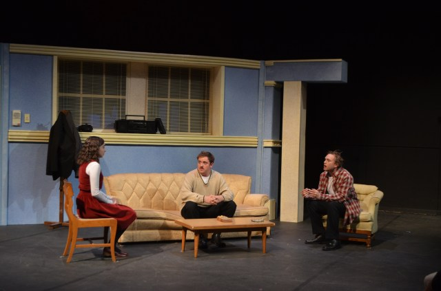 The actors of 'Jack Goes Boating' perform an intriguiging play directed by James Bristow.