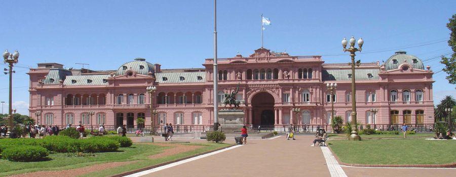 Casa Rosada Buenos Aires Argentina Guia informacion visitas