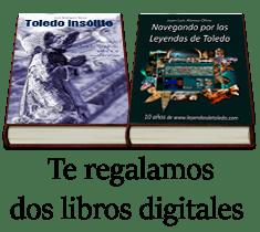 Regalamos dos libros digitales sobre Toledo