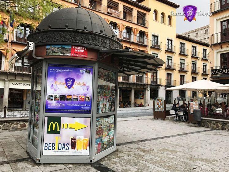 Kiosko Rutas de Toledo