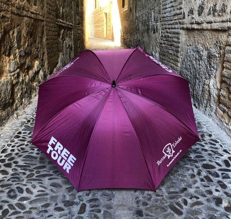 Paraguas Morado - Rutas de Toledo - Free Tour