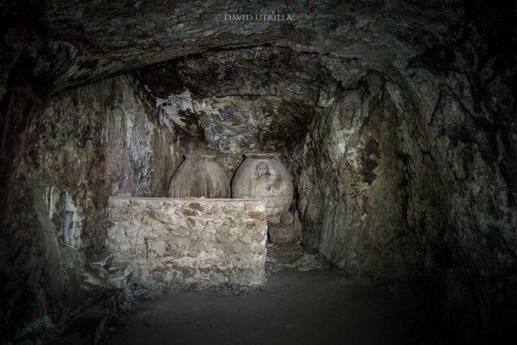 Cueva que visitamos en la Ruta Toledo Mágico