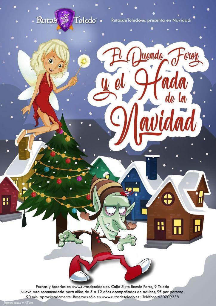 Ruta infantil El Duende Feroz y el Hada de Navidad en Toledo