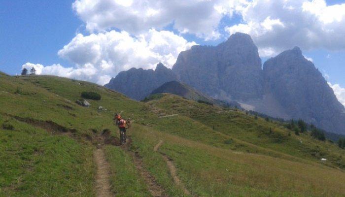 Dolomitas en bici de montaña
